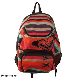 Roxy Multicolor Striped Backpack